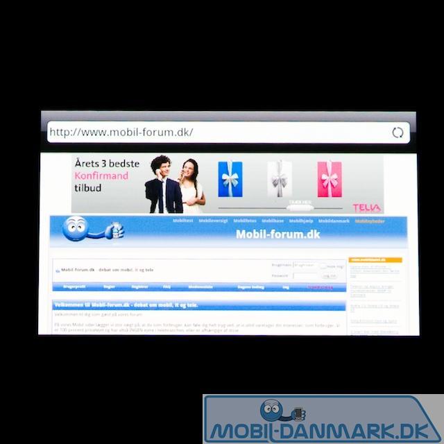 Websiden i bredformat