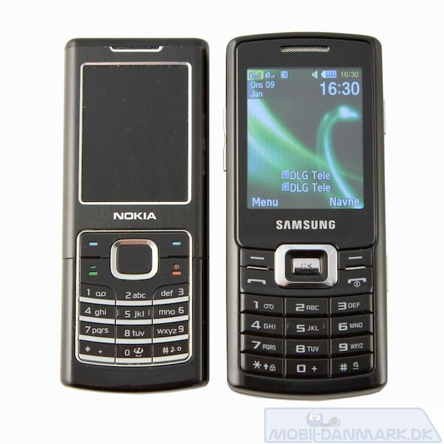 Her en Nokia 6500 Classic ved siden af C5212