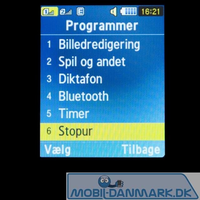 Programmenuen
