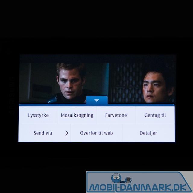 Indstillinger i videoafspilleren