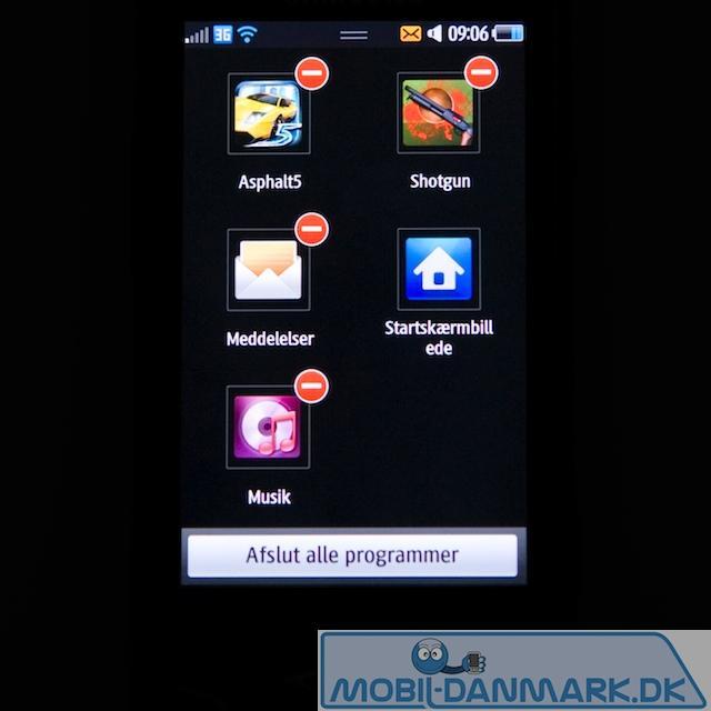 Multitasking/lukning af programmer