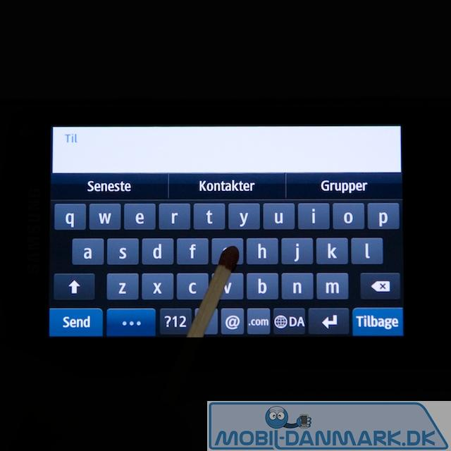 Fuldt QWERTY-tastatur