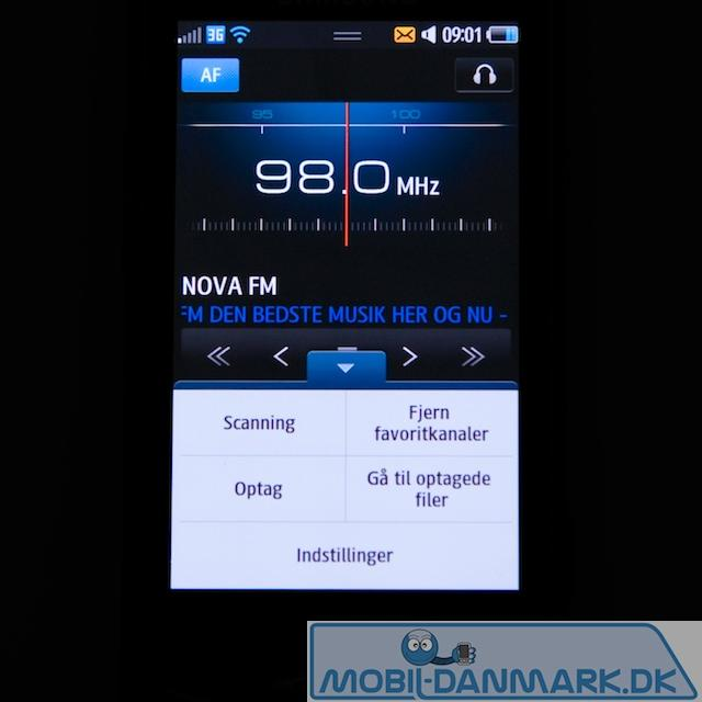 FM-radiomenu