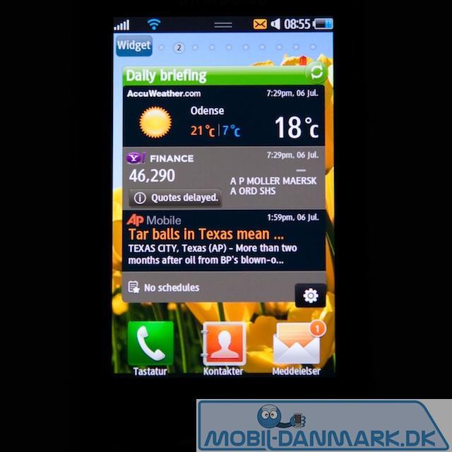 En af de gode Samsung-widgets