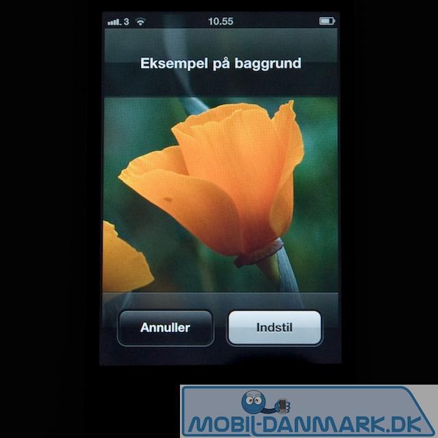 Iphone 4 har en flot skærm