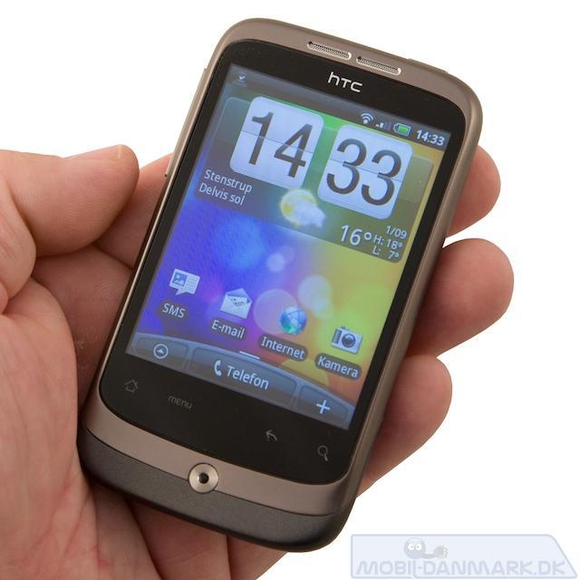 Wildfire er en fix lille telefon
