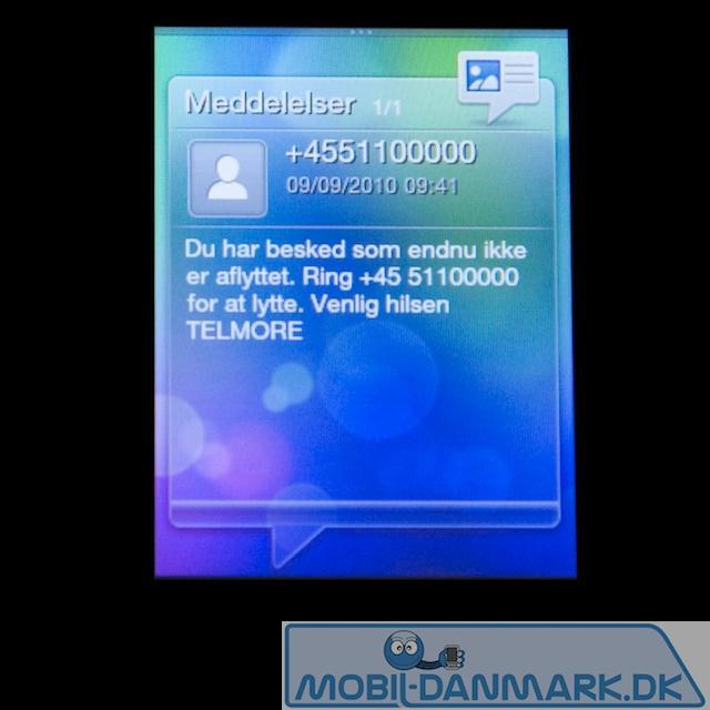SMS-widget