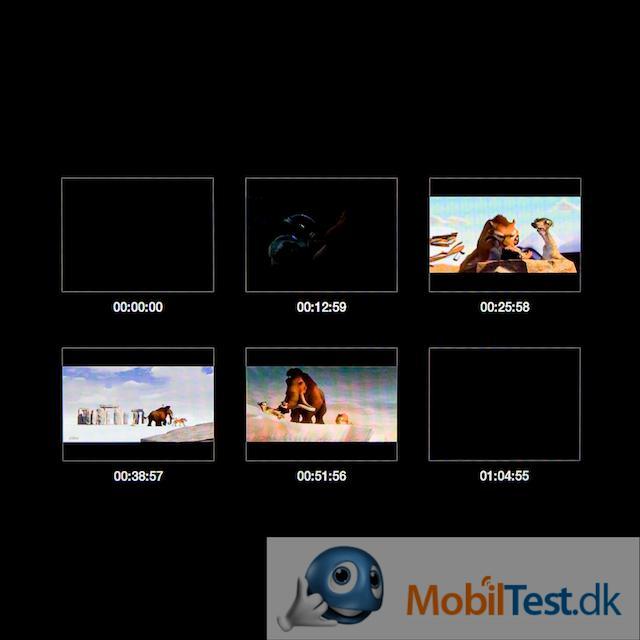 Videonavigeringsmenu