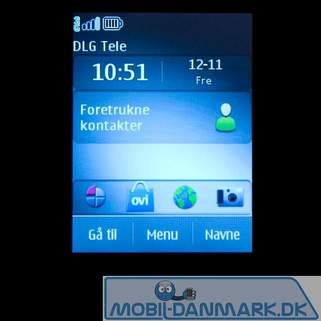 Aktiv standby-skærm