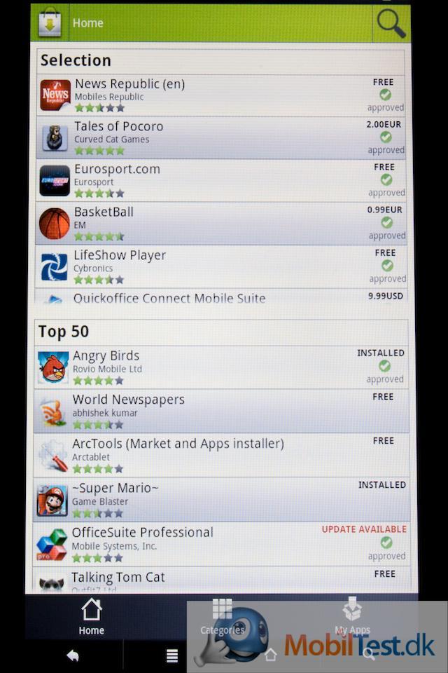 Applib er Archos' app-butik