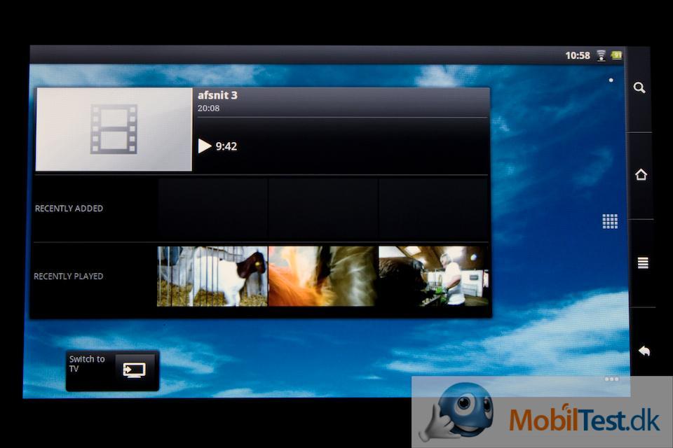 Her er en video-widget