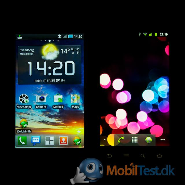 Galaxy S vs Nexus S
