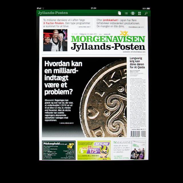 Jyllands Posten-app