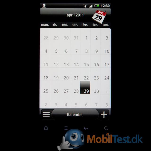 Som sædvanlig en god kalender