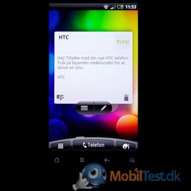 Desire S ved siden af HTC Legend