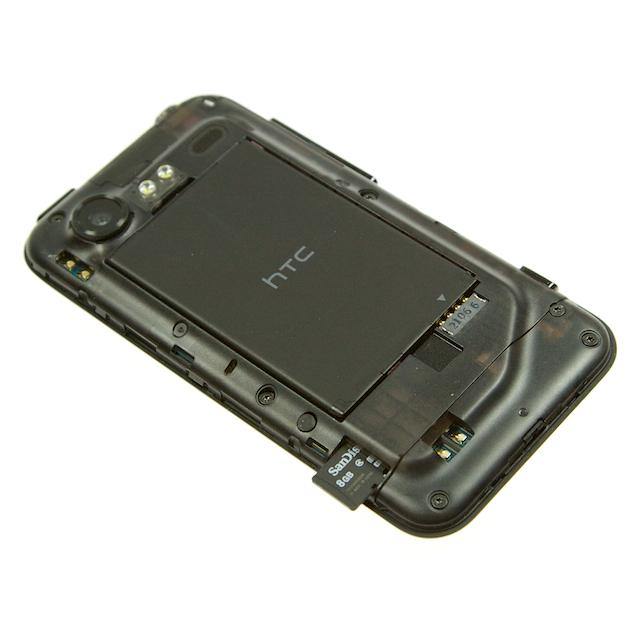 MicroSD-kort i siden