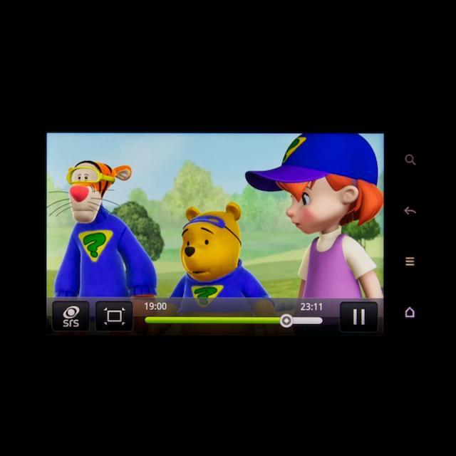Videoafspilning af Divx-fil