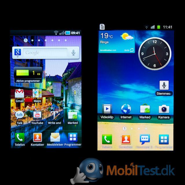 Galaxy S vs. Galaxy S2