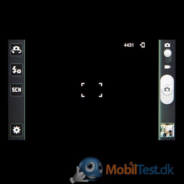 Kameramenu