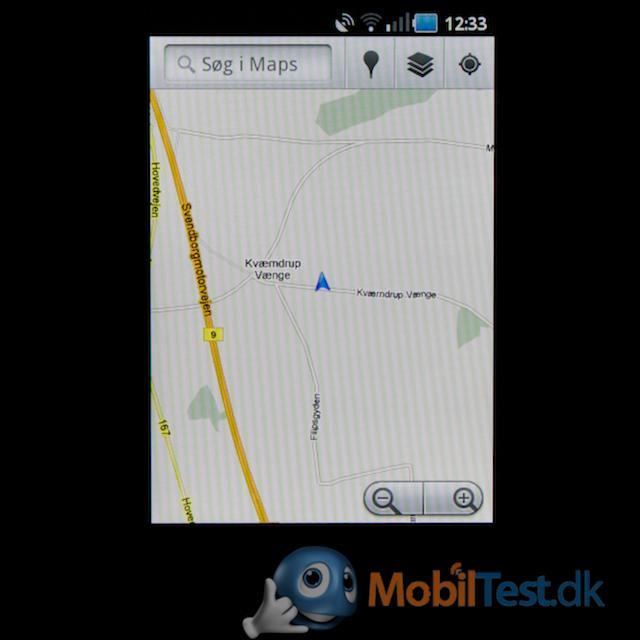 Google Maps med GPS