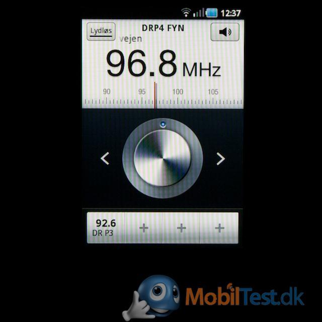 FM-radio med RDS