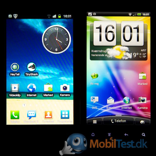 Galaxy S2 vs. Sensation