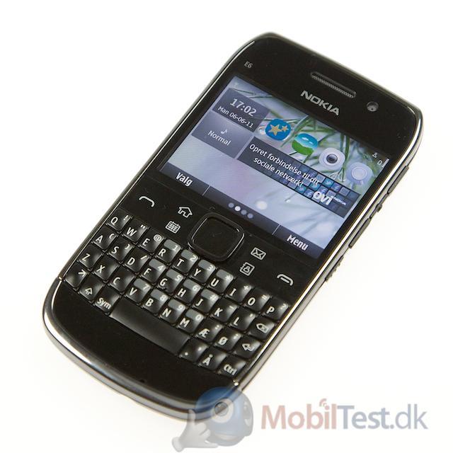 E6 er en rigtig flot mobil