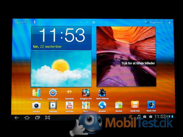 Det nye Android til tablet-enheder