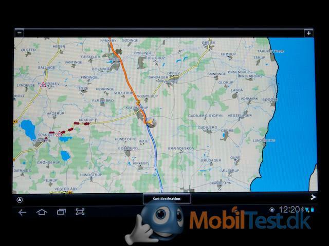 GPS-kort