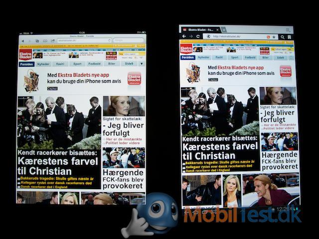 iPad 2 og Galaxy Tap 10.1