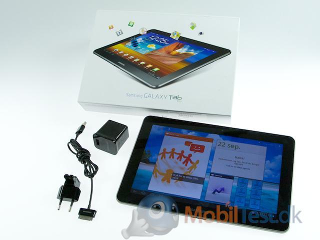 Galaxy Tab og tilbehør