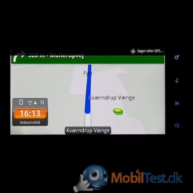 Navigation fungerer fint
