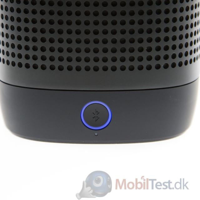 LED-lys omkring bluetooth-knappen