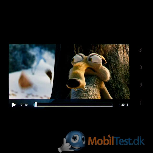 Udmærket videoafspiller