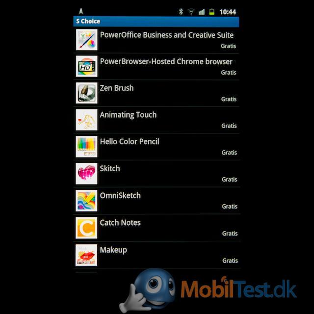Apps til S-pen
