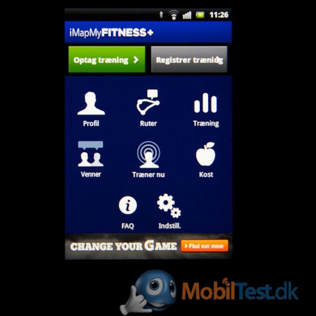 iMapmyFitness app