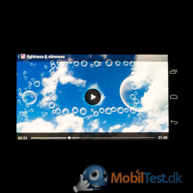 Videoafspiller i HD