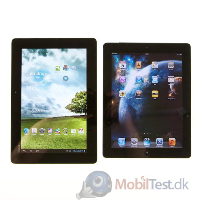 Transformer Prime og iPad