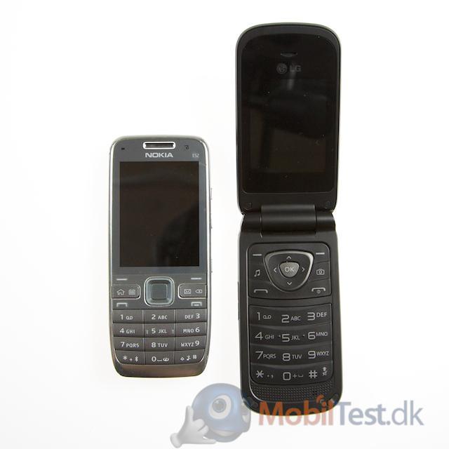 Nokia E52 og LG A250