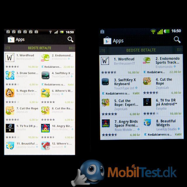 Bemærk apps