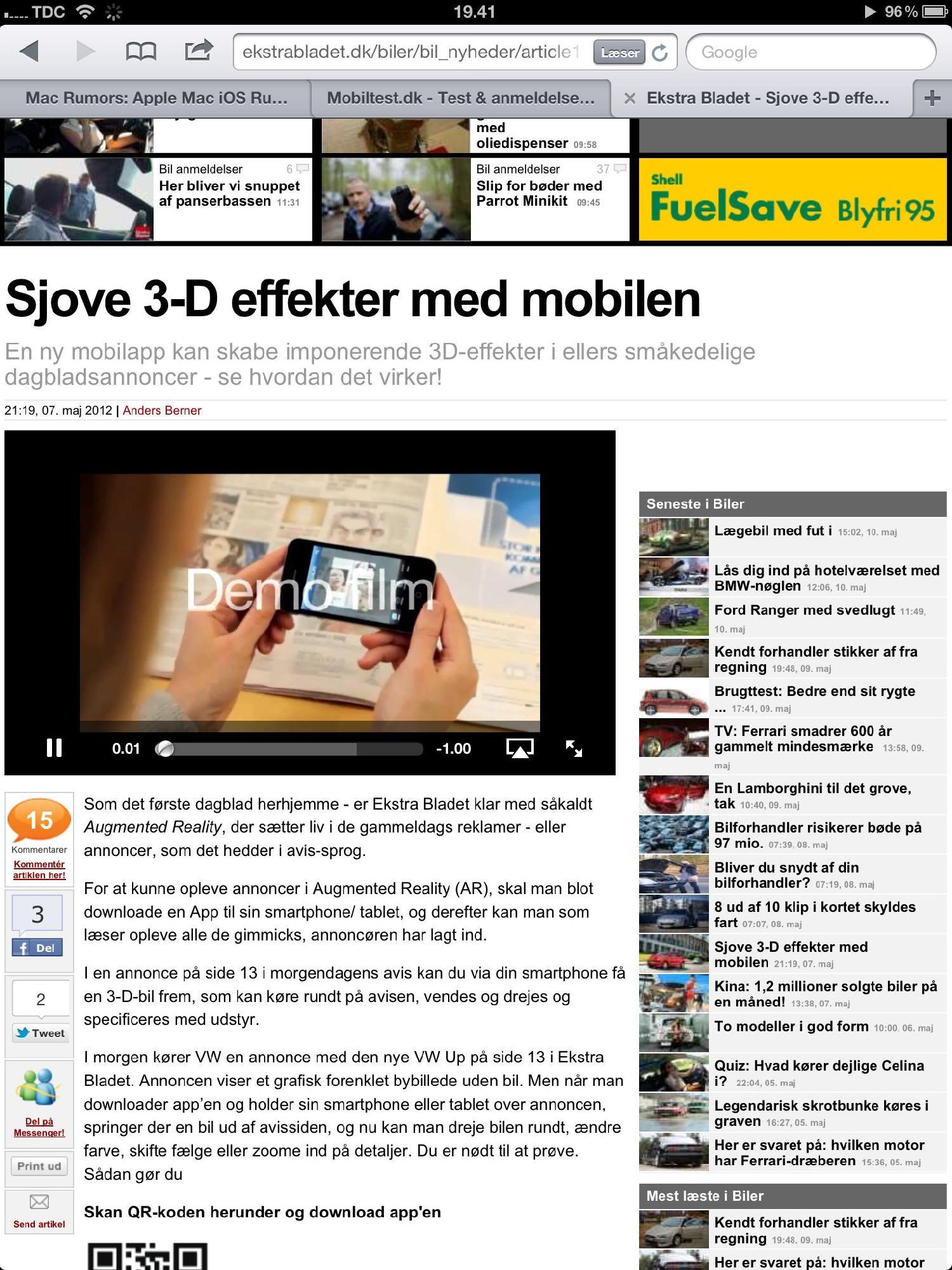 Eb.dk hvor også tv kan afspilles