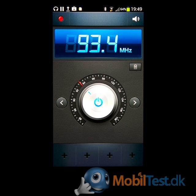 Fint FM-radio med RDS