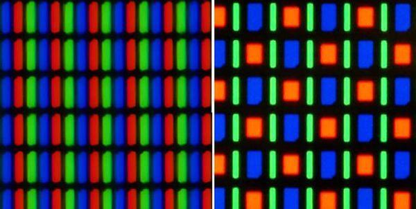 RGB ctr. pentile