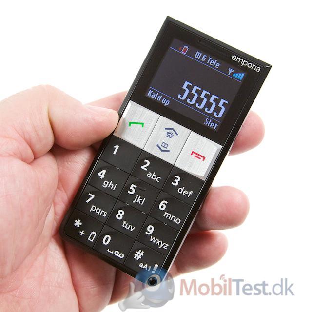 Fin størrelse mobil