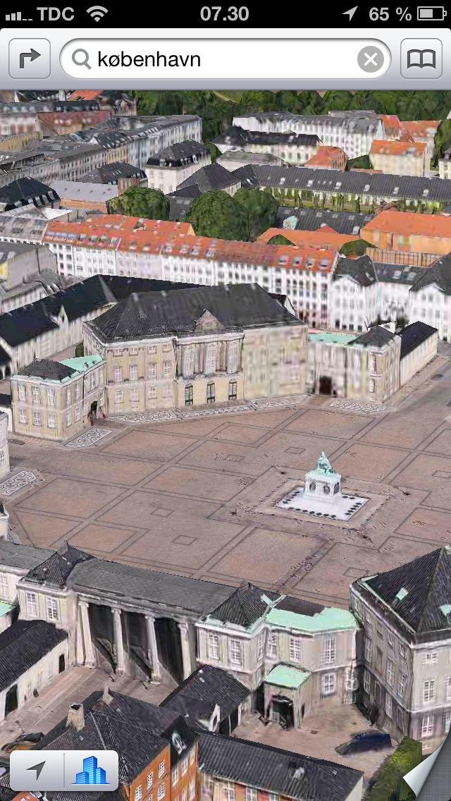 Fly Over Amalienborg