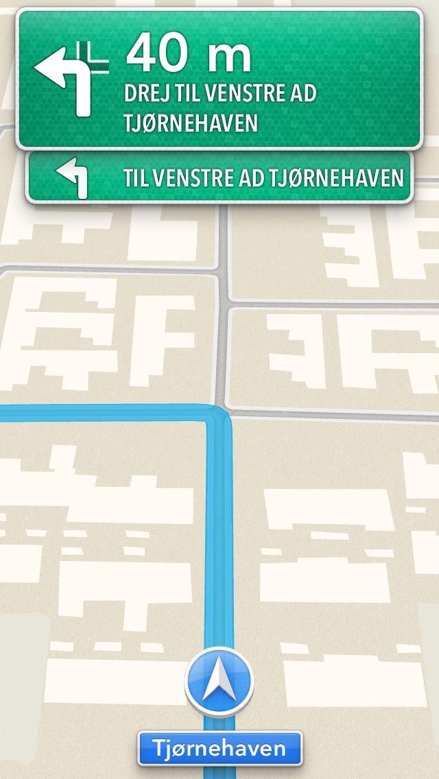 Turn by turn navigation
