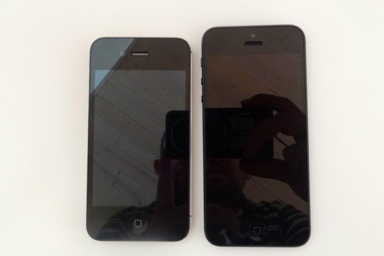 iPhone 4S og iPhone 5