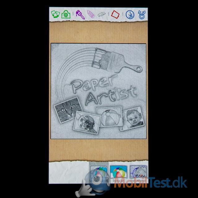 S-pen tegne/foto-app