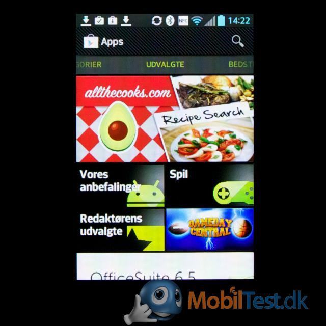 Google Play forside