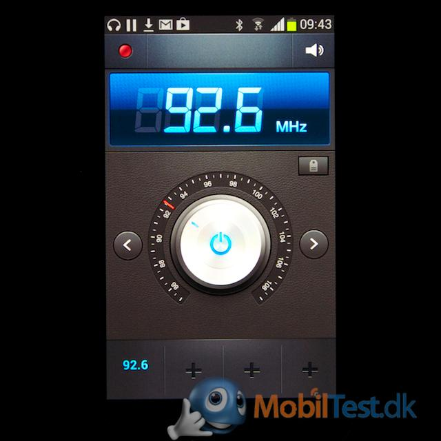 Fin FM-radio